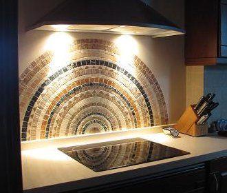 Diseño De Cocina Con Mosaico En Elche