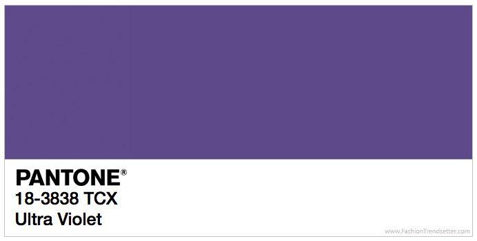Ultra Violeta, elegido color de 2018 por Pantone